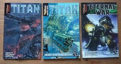 Warhammer Graphic Novel Bundle Titan, Titan II: Vivaporius, Eternal War