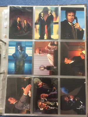 Akte X, X-files the Truth is out there Trading Cards series 2, 1996, 1-72