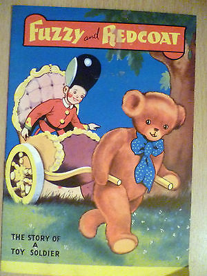 Vintage Junior Classics Illustrated Comic Fuzzy Redcoat-The story of Toy Soldier