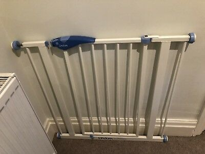 Lindam Stair Gate Child Safety Gate White