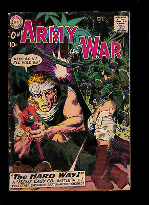 Our Army at War 88 Early Sgt Rock Kubert Cover Heath art