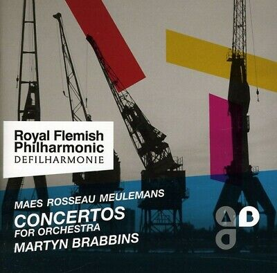Concertos For Orchestra - Royal Flemish Philharmonic (2012, CD NUOVO)