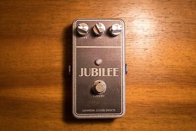 LovePedal Jubilee, Overdrive/Distortion Guitar Effects Pedal in OVP, limited!