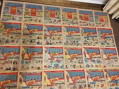 1975 THE TOPPER Comics x 44