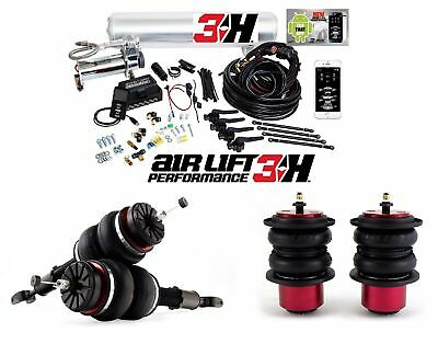 "Audi A6 S6 RS6 C6 Air Lift 3H 1/4"" Digital Air Ride with Performance Bags Kit"