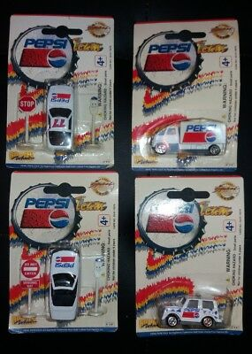 Vintage Golden Wheel Pepsi Team Die Cast Toy Cars and trucks lot collectables