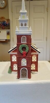 Dept. 56 Heritage Village Collection New England Village Old North Church - EXC+