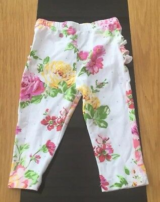 Stunning Monsoon Ruffled Summer Trousers - Age 6-9 Months