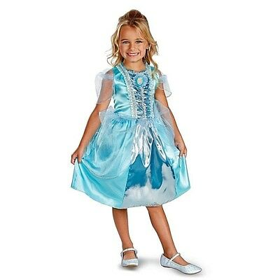 CINDERELLA Child Costume Story-time Wishes Lost Slipper Dancing              N4