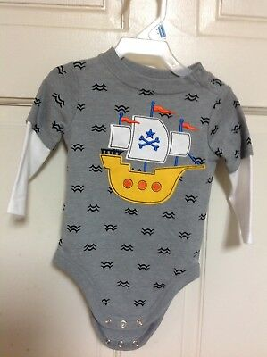 Infant Boys Outfit Baby Clothing Boat Pants Set Kids