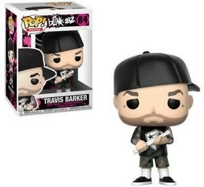Blink 182 - Travis Barker - Funko Pop! Rock (2018, Toy NUEVO)