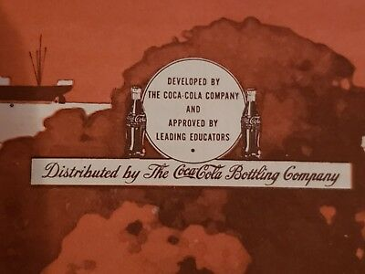 Rare COCA COLA 1943 Transportation Activities Book Never Used 75 YEARS OLD! WWII