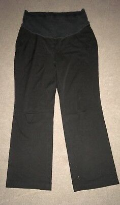 M&S Maternity Work/Smart Trousers Size 14 Over-the-bump. Leg 31""