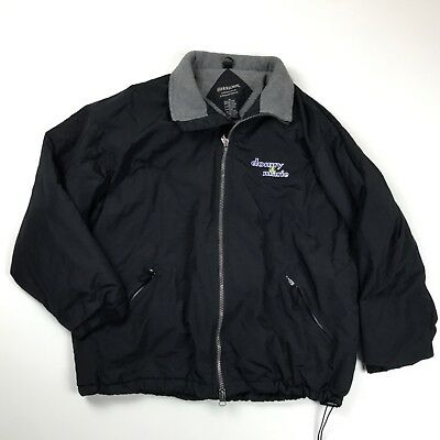 Donny and Marie Jacket Mens Black Holloway Size XL