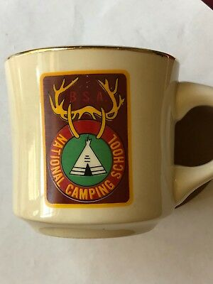 Vintage Boy Scouts Cup B S A National Camping School