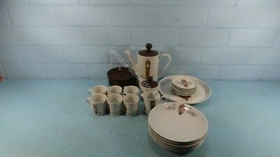 Large Breakfast/Coffee Set With History Of Dutch Stoel & Friesian Tail Clocks