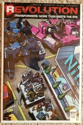 Transformers Revolution More Than Meets The Eye (Signed by James Roberts, Milne)