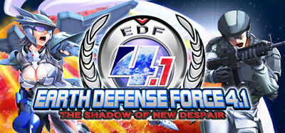EARTH DEFENSE FORCE 4.1 The Shadow of New Despair PC Steam No Key Code Multi