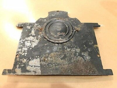 ANTIQUE ANSONIA CAST IRON MANTLE CLOCK Back BODY With Back Cover