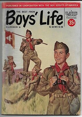 Classics Illustrated The Best From Boy's Life Comics #5 Good 1958 Boy Scouts BSA