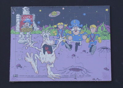 Soggie On The Run:  Cap'n Crunch Puzzle Mint in Shrink Wrap 1987