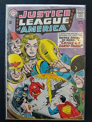 JUSTICE LEAGUE OF AMERICA #29 1964 (VG) 1st Silver Age Starman!