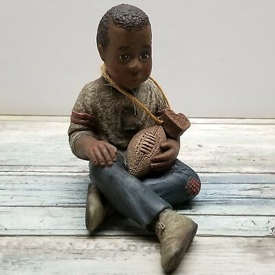 Sarah's Attic Caleb - Football - Limited Edition Resign Figurine #190/6000