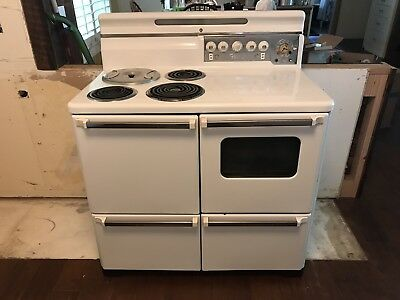 """Vintage 40"""" Electric Range By Florence"""