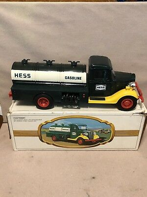 Vintage 1980's The First Hess Truck Light Up Working Headlights With box