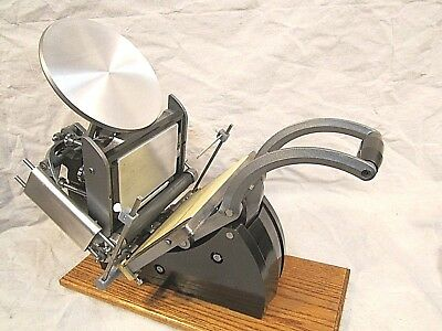 Adana 8X5 Letterpress Platen Press With Photopolymer Base Excellent Complete