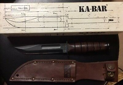 KA-BAR USMC Fighting and Utility Knife Full-Size 1219C2