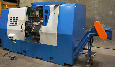 "Femco HL-35 10"" chuck CNC lathe turning center"