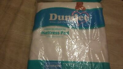 Dundee 27 X 50 In Baby Quilted waterproof  Matress Pad