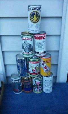 10 Diff International Aluminum Beer  Beer Can Cans