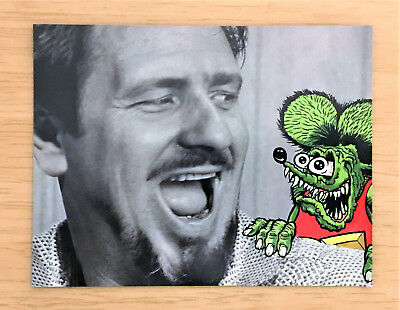 """*rare*  Ed Roth - """"tales Of The Rat Fink""""  Premiere Giveaway Lg Magnet!   4""""x6"""""""