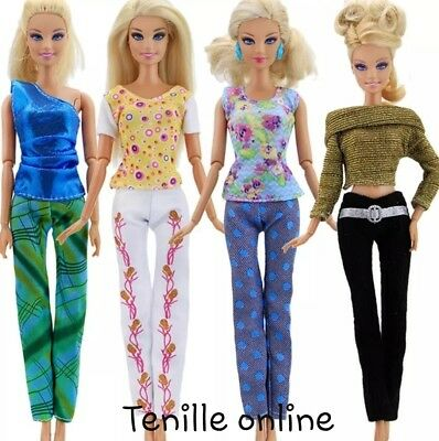 New Barbie doll outfits clothes dress x4 Aussie seller fast postage lot 5