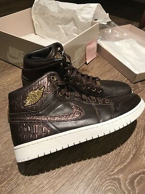 wholesale dealer d7edd ac909 Men s Nike Air Jordan 1 Pinnacle Shoes Baroque Brown Gold Size 11.5 Limited  OG