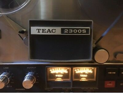 Reel To Reel Vintage Teac 2300S Stereo Tape Player/recorder