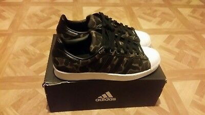 Adidas Originals Superstar BB2774 Men's 10.5 Camo Green/Black/White Brand New