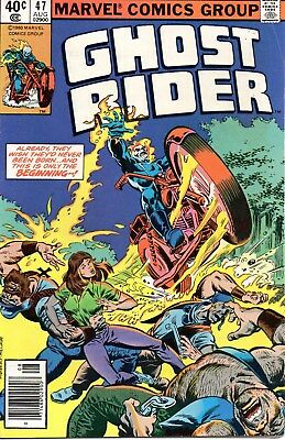 Ghost Rider #47 (August 1980, Marvel) Bronze Age Fine Combined Shipping