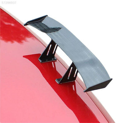 Car Mini Rear Tail Spoiler Wing GT Carbon Fiber Decoration Without Perforat New