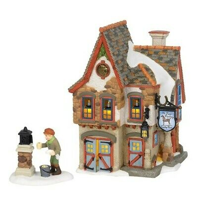 Dept 56 Dickens Welcoming Christmas Set of 2 #6002291 BRAND NEW 2018 Free Ship