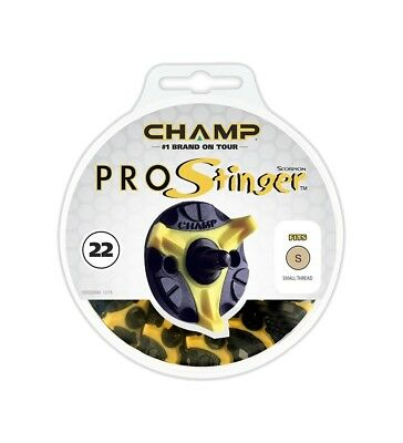 Champ Pro Stinger Golf Spikes/Cleats | Q-Lok, Slim-Lok, 6mm Thread