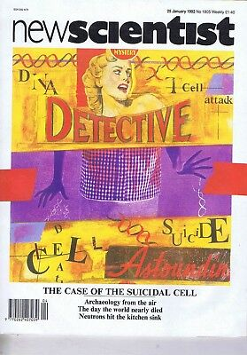 SUICIDAL CELL / ARCHAEOLOGY FROM THE AIRNew Scientist25JAN1992
