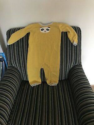 yellow wool romper, John Lewis, Size 12-18 Months, Only been worn once.