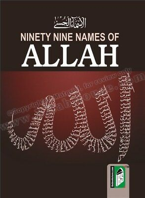 Ninety Nine Names of Allah (99 - Pocket Size - IBS)