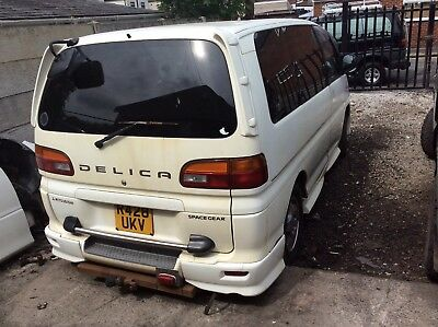 1998 MITSUBISHI DELICA 2.8 TD AUTO FACELIFT MODEL BREAKING wheel nut only