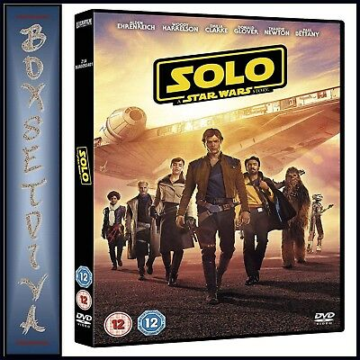 Solo A Star Wars Story ** Brand New Dvd***