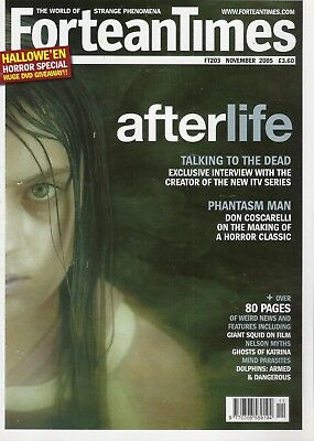 The World of Strange Phenomena. Fortean Times Magazine. FT203, November, 2005.