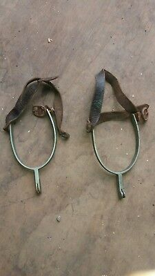 Kerbl Women's Drop-Shape Spurs With Straps - horse riding. Wild west bdsm fancy